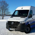 Mercedes-Benz eSprinter in Schweden