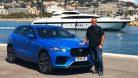 2019 Jaguar F-Pace SVR Test & Probefahrt an der Côte d'Azur. Foto: die-autotester.com