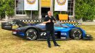 Jens Stratmann ID.R Rekord Goodwood Festival of Speed