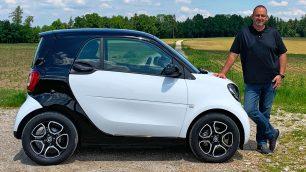 smart EQ fortwo test 2019