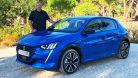 2019 Peugeot e-208 Vertigo Blau