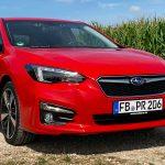 2019 Subaru Impreza 2.0i Sport in Pure Red