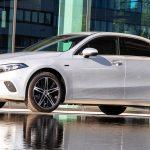 Mercedes-Benz A 250 e Limousine, iridiumsilber metallic
