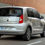 Seat Mii Electric Plus in Tungsten Silber