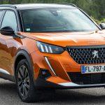 2020 Peugeot e-2008 Orange Fusion