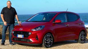 2020 Hyundai i10 Style in Dragon Red Mineraleffekt