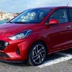 2020 Hyundai i10 Style in Dragon Red Mineraleffekt