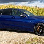Mercedes-AMG C 63 S Limousine Brillantblau Metallic