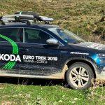 2019 Skoda Euro Trek Albanien