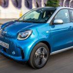 smart EQ forfour MJ 2020 steel blue