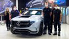 2020 Transparent Mercedes-Benz EQC 400