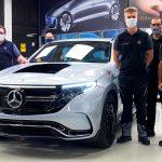 2020 Transparent Mercedes-Benz EQC 400