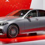 2021 Mercedes C-Klasse Limousine Selenitgrau magno