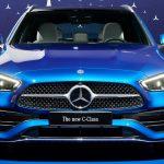 2021 Mercedes C-Klasse T-Modell Spektralblau