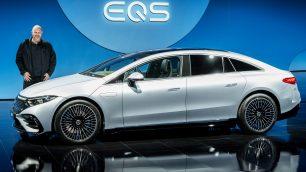 2021 Mercedes EQS Premiere