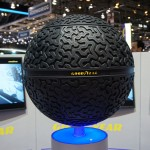 Goodyear Eagle 360, Messestand Goodyear in Genf 2016