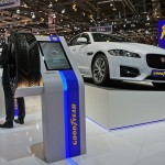 Goodyear Messestand in Genf