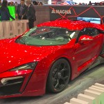 Weltpremiere des LyKan HyperSport in Genf