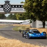 Romain Dumas ID.R Rekord Goodwood Festival of Speed