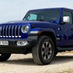 2019 Jeep Wrangler Unlimited Sahara in Ocean Blue