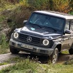 2019 Mercedes G 500 Mercedes Driving Event